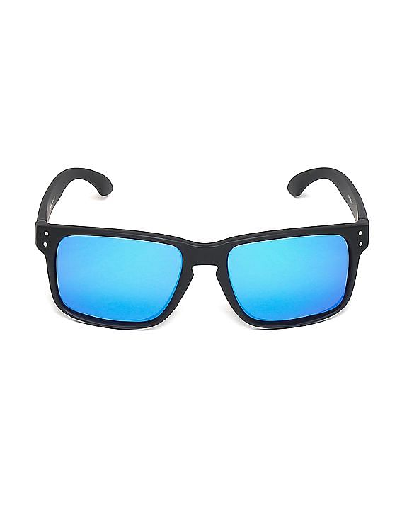 9774d3148f Buy Men Mirrored Polarized Sunglasses online at NNNOW.com