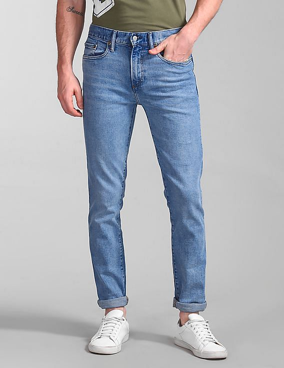 45a30b91e3f Buy Men 000000044071045600 Light Indigo 10 Mens Jeans online at ...