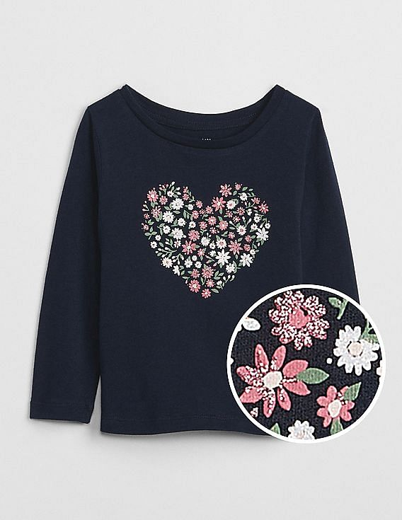 a911d4ddeacb Buy Baby Baby Sparkle Graphic Long Sleeve T-Shirt online at NNNOW.com