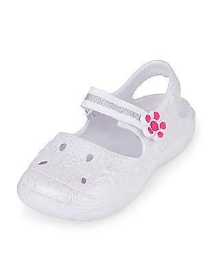 The Children's Place Toddler Girl Glitter Breezer Shoe