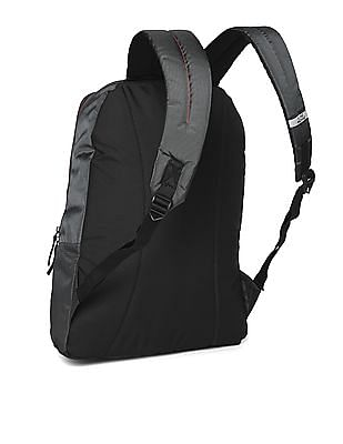 Flying Machine Brand Print Laptop Backpack