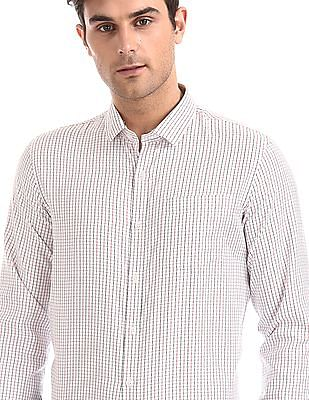 Excalibur Semi Cutaway Collar Check Shirt - Pack Of 2