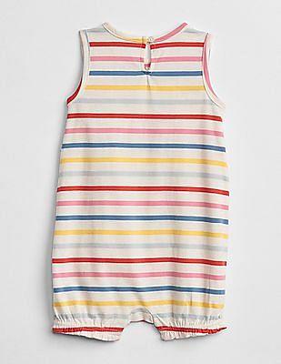 GAP Baby Multi Colour Stripe Shorty One-Piece
