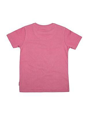 FM Boys Boys Graphic Print Slim Fit T-Shirt