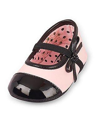 The Children's Place Baby Toe Cap Ballet Flats