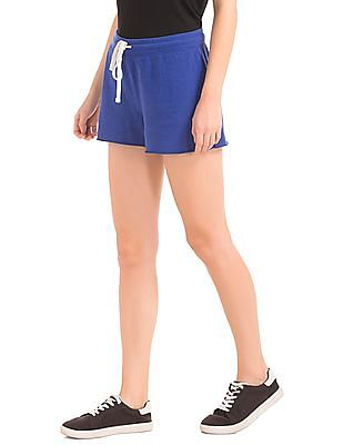 GAP Women Blue Cutoff Shortie