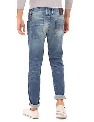 Ed Hardy Super Slim Mid Wash Jeans