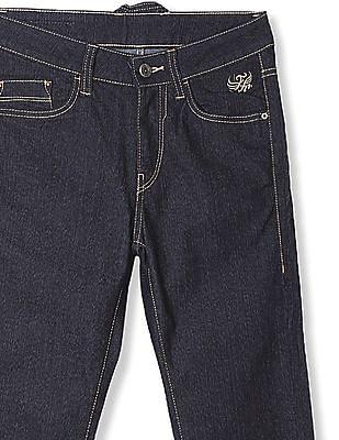 Flying Machine Blue Jackson Skinny Fit Rinsed Jeans