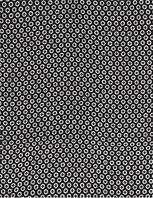 Arrow Black Printed Pocket Square