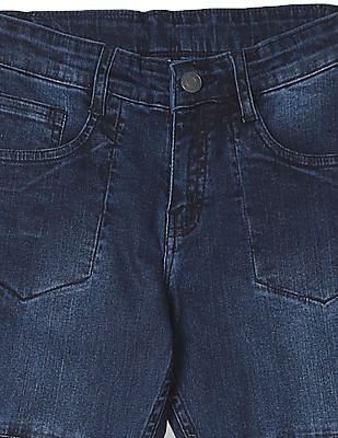 Cherokee Boys Slim Fit Dark Wash Jeans