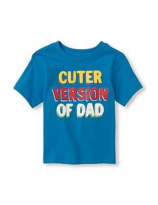 The Children's Place Toddler Boy 'Cuter Version Of Dad' Graphic Tee