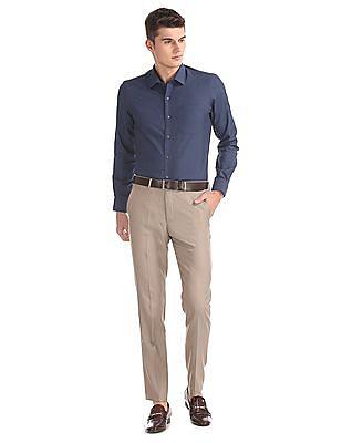 Arrow Slim Fit Cotton Shirt