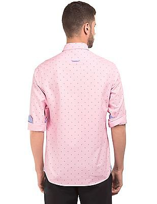 Arrow Sports UV Protected Slim Fit Shirt