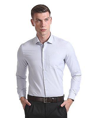 Arrow Newyork Slim Fit Long Sleeve Shirt