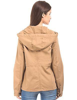 Aeropostale Hooded Parka Jacket