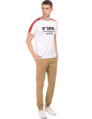 USPA Active Colour Block Active T-Shirt