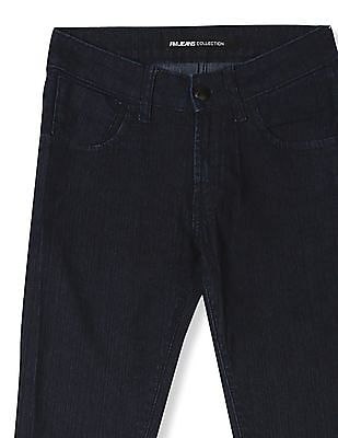 Flying Machine Women Blue Norma Super Skinny Fit Rinsed Jeans