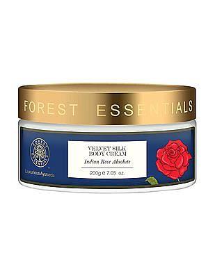 FOREST ESSENTIALS Velvet Silk Body Cream - Indian Rose Absolute
