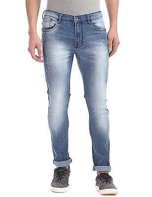 Colt Skinny Fit Stone Wash Jeans