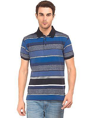 Izod Slim Fit Striped Polo Shirt