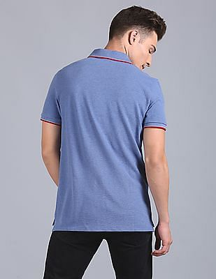 GAP Basic Polo With Contrast Tipping And Tape Detail