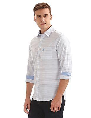 U.S. Polo Assn. Button Down Striped Shirt