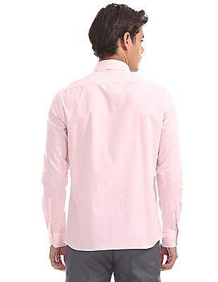 Arrow Slim Fit Checked Shirt