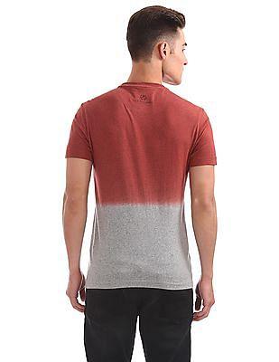 U.S. Polo Assn. Denim Co. Contrast Print Dyed T-Shirt