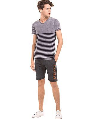 Colt Regular Fit Heathered Knit Shorts