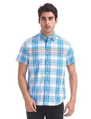 Aeropostale Short Sleeve Check Shirt