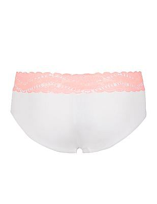 Aeropostale Contrast Lace Panel Panties