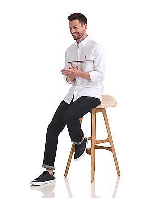 U.S. Polo Assn. Button Down Collar Oxford Shirt