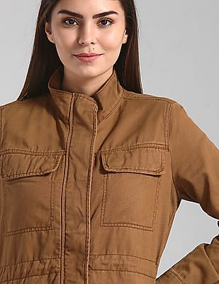 GAP Brown Utility Twill Jacket