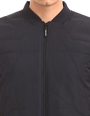 Flying Machine Padded Bomber Jacket