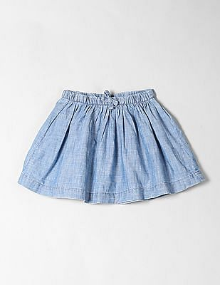 GAP Baby Chambray A-Line Skirt