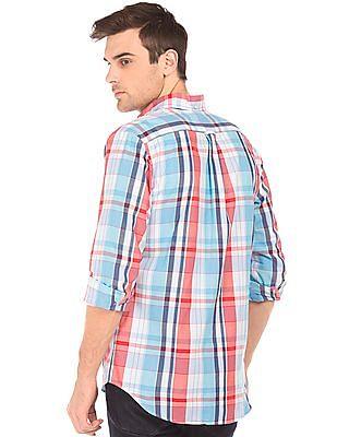 Gant Regular Fit Madras Plaid Shirt
