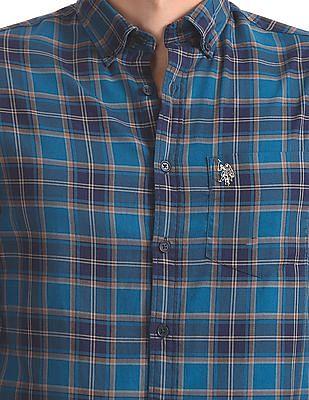 U.S. Polo Assn. Checked Button Down Shirt