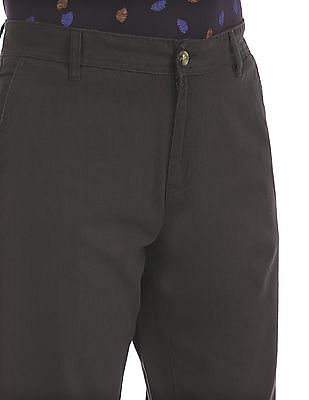 Ruf & Tuf Slim Fit Flat Front Trousers