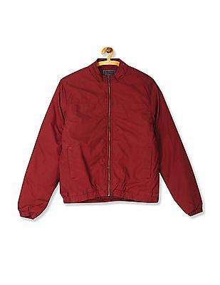Flying Machine Puffed Zip Up Jacket