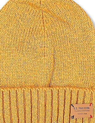 U.S. Polo Assn. Kids Boys Cuffed Knit Beanie