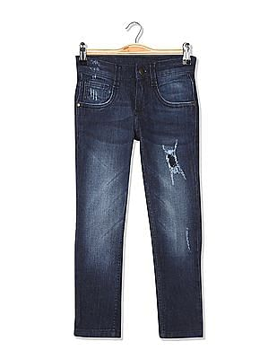 FM Boys Boys Mid Rise Skinny Fit Jeans