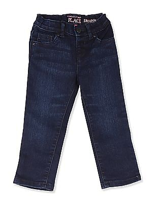 The Children's Place Blue Toddler Girl Skinny Fit Rinsed Jeans