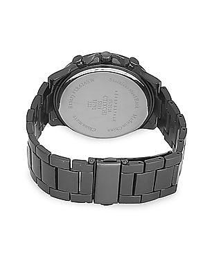 Aeropostale Metal Strap Chronograph Watch