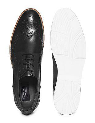 Arrow Wingtip Brogue Shoes