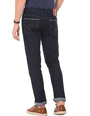 U.S. Polo Assn. Denim Co. Rinse Washed Slim Tapered Fit Jeans