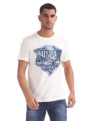 U.S. Polo Assn. Denim Co. Crew Neck Graphic T-Shirt