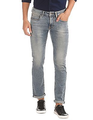 Flying Machine Slim Tapered Fit Faded Jeans