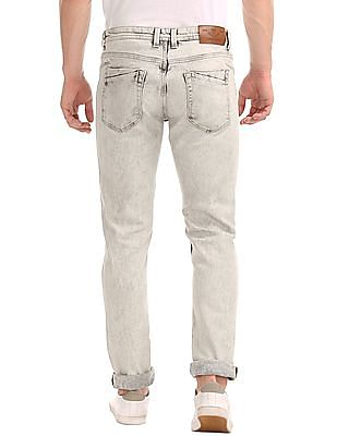 Cherokee Slim Fit Washed Jeans