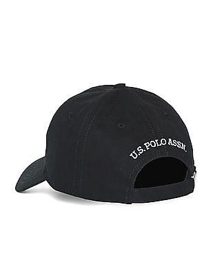 U.S. Polo Assn. Embroidered Logo Cotton Cap