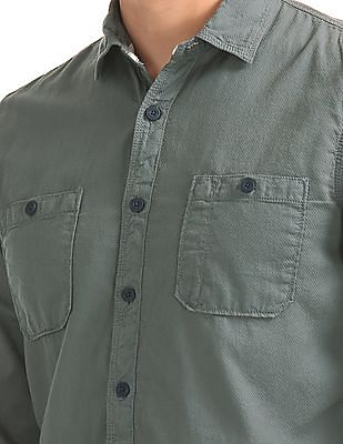 Cherokee Patterned Regular Fit Shirt